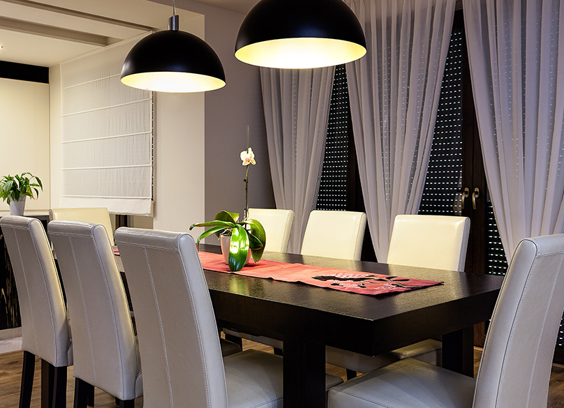 Dining room furniture can make a big difference
