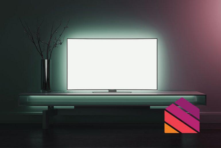 Backlight for TV