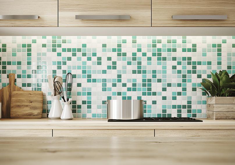 Tiles make a great backsplash