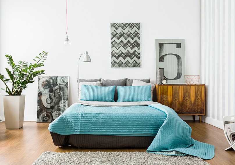 Your bed should be the focal point