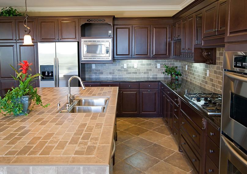 Ceramic Tiles Countertop
