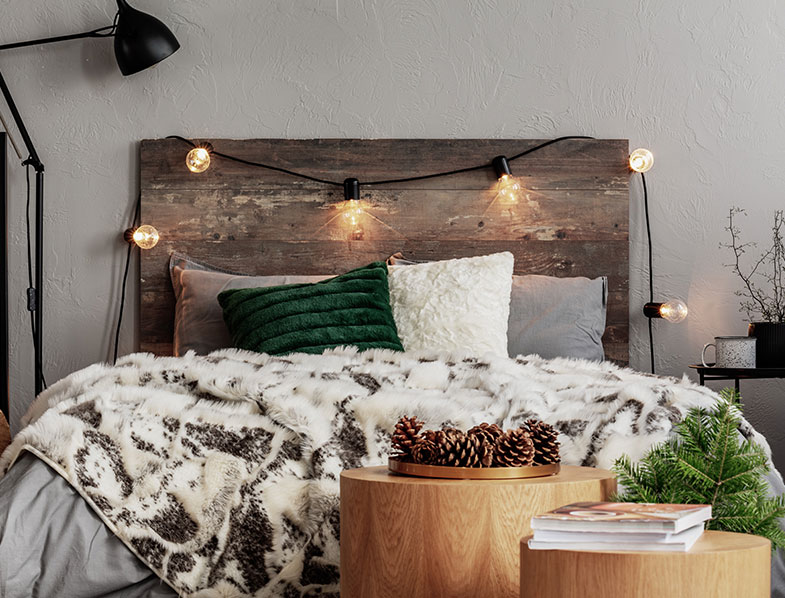 Try a rustic look